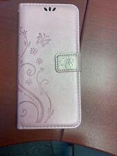 Motorola Moto E5 Plus, E5 Case, Leather Magnetic Flip Stand Wallet Cover