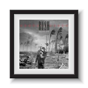 "Rush - Permanent Waves   12"" Album Cover - Framed 16"" x 16"""