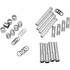PUSHROD TUBE KIT FOR ADJUSTABLE & QUICK INSTALL PUSHRODS HARLEY TWIN CAM CHROME