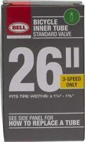 "Bell Bike Tubes 26""x1 3/8"" Standard Schrader Valve Bicycle Inner Tubes"