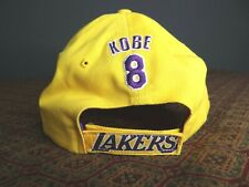 Vintage Kobe Bryant #8 Hat LA Lakers Hat cap