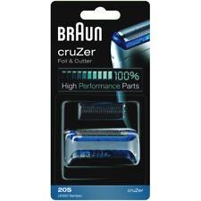 Braun personal care combi pack 20 s nuevo cabezal de plata para la maquinilla de afeitar