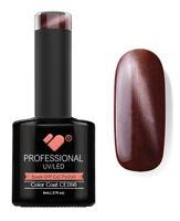 CE098 VB Line Cat Eye Brown Metallic - UV/LED nail gel polish - super quality