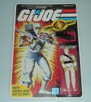 *RECARDED Lot 1984 GI Joe Storm Shadow v1 Complete Sealed *CUSTOM File Card Back