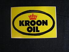 Sticker Kroon Oil (JS)