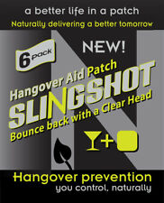 Hangover Patch Recovery Patch 6 in a pack Slingshot Vitamin B Ginseng Natural