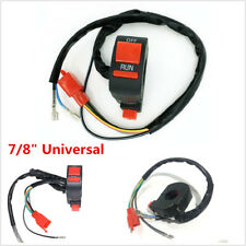 """1x Universal 7/8"""" Motorcycle Handlebar Control Ignition Kill Start ON OFF Switch"""