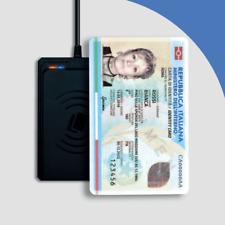 Trust Lettore Firma Digitale di Smart Card senza Contatto - Nero