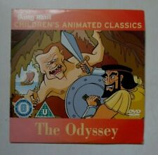 THE ODYSSEY CHILDREN'S ANIMATED CLASSICS DAILY MAIL DVD PROMO GC