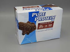 6 Pure Protein Chocolate Deluxe Bars Exp 8/20, 6 total bars