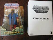 MOTUC Masters of the Universe Classics King Randor