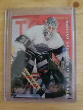 1995 Fleer ROOKIE Jamie Storr Los Angeles Kings Card #66