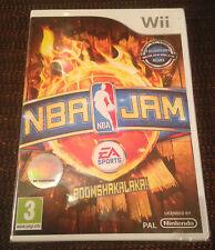 NBA JAM jeu Nintendo WII PAL FRANCAIS  ++ 100% NEUF Blister ++ BASKET