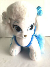 Build a Bear Palace Pets White Dog with A Cinderella Theme Dress & Bows