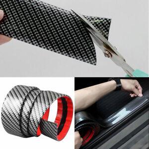 3CM*1M Car Carbon Fiber Edge Guard Strip Door Sill Protector Cover Decal Durable
