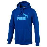 PUMA ESS No.1 Logo Hooded Sweatshirt TR Hoody Kapuzenpullover blau 31
