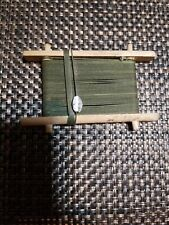 Primitive Wooden Fishing Line Winder Wood Hand Winder Ice Fishing