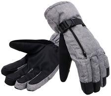 Men 3M Thinsulate Touch Screen Winter Sports Ski Snow Gloves Mittens