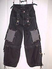 TRIPP NYC Man S Black Pants Gothic Emo Chrome SKULL SPIKES