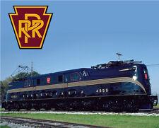 Pennsylvania Railroad GG1 Sturdy Metal Sign Logo Photo