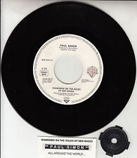 """PAUL SIMON  Diamonds On The Soles Of Her Shoes  PICT SLEEVE 7"""" 45 rpm BRAND NEW"""