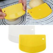 Spatula Dough Scraper Baking Kitchen Gadgets Curved Edge Cutter Flexible Safe
