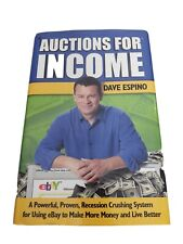 Auctions for Income How to sell on eBay Dave Espino Hardcover Book