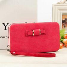 Women Lady Leather Wallet Purse Long Handbag Clutch Box Bag Phone Card Holder PU