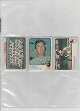 1973 TOPPS BASEBALL PICK-10 TO COMPLETE YOUR SET OR TEAM SET      EXCELLENT-MINT