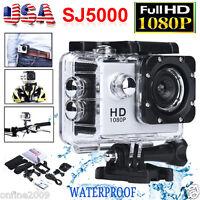 SJ5000 12MP Full HD 1080P Action Camcorder Waterproof Sport DV Camera Car Cam US