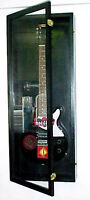 Guitar Display Case Wood Acoustic Electric Guitar Case