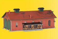 Kibri 37438 Engine Shed Two Stall Kit N