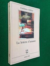 Cathleen SCHINE - LA LETTERA D'AMORE , 1° Ed. Adelphi Fabula (1996) Ottimo !!!