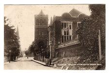Grove Hill - Harrow Photo Postcard 1906