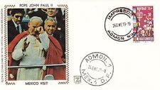 1979 POPE JOHN PAUL II MEXICO VISIT CACHET POSTAL COVER