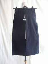 "Ladies Trousers - DKNY, size UK 4, US 8, black, BNWT cropped capri, 21.5""L 1567"