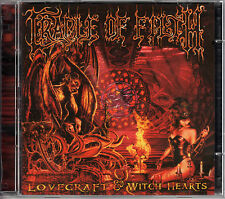 CRADLE OF FILTH lovecraft & witch hearts 2CD 2002 Music for Nations