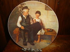 Norman Rockwell The Lighthouse Keeper's Daughter Collector Plate Knowles