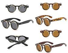 Steampunk glasses retro flip up sunglasses lady gaga vintage Keyhole New Rave UK
