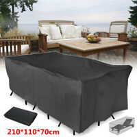 Large Waterproof Table Chair Cover Patio Furniture Outdoor Garden Yard Protect