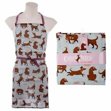 Catch Patch Dog Novelty Apron - Poly Cotton Dog Lover Gift Fun NEW