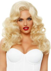 Leg Avenue Long Curly Blonde Bombshell Wig