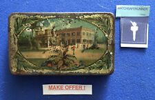 VINTAGE ADVERTISING 'PHENIX' CIGARETTE TIN VESTA CASE MATCH SAFE STRIKER