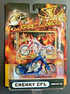 2004 Jesse James West Coast Choppers Cherry CFL Blue Motorcycle 1:31 HW3