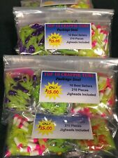 TOP 10 CRAPPIE TUBE PACKAGE DEAL 200 Piece with 10 FREE JIGHEADS