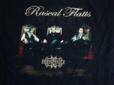 Rascal Flatts Unstoppable Concert Tour Country Music Black T Shirt L