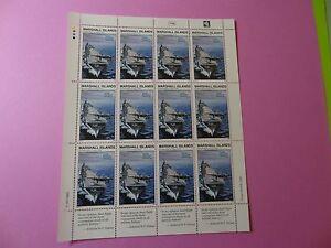 MH Marshall Islands * SC 306 WWII * Doolittle Raid * MNH * Sheet 12 * W40