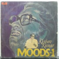 Kishore Kumar MOODS LP Record Bollywood Hindi Film Songs Rare Vinyl 1978 Indian