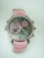 PINK FEMALE WATCH CAMERA 1080p FULL HD VIDEO RECORDER & NIGHT VISION 12MP PHOTO