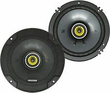 "Kicker 6.5"" 2-Way Car Speakers CSC65 300W Peak 100W Recommended 3.3 Ohm"